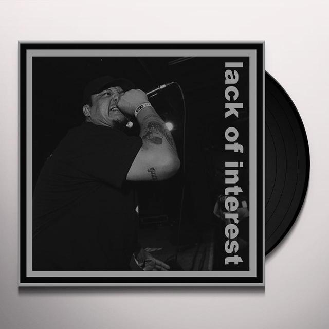 BASTARD NOISE/LACK OF INTEREST Vinyl Record