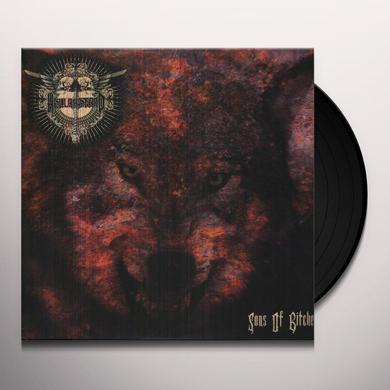 Hellbastard SONS OF BITCHES Vinyl Record