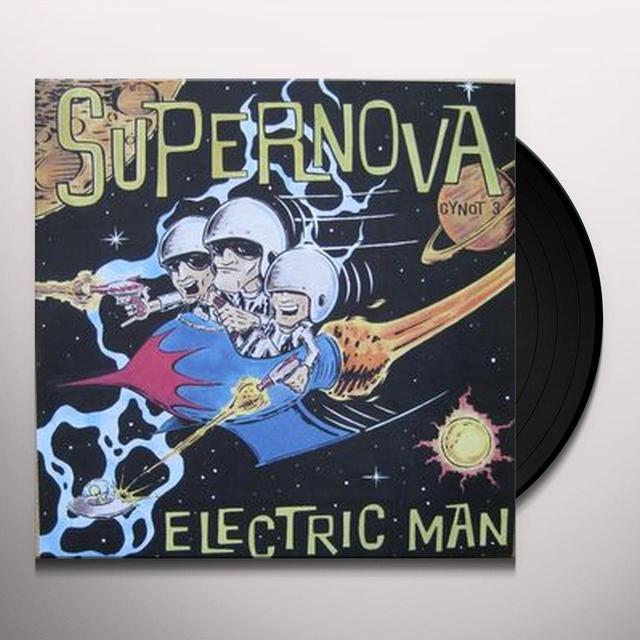 Supernova ELECTRIC MAN Vinyl Record