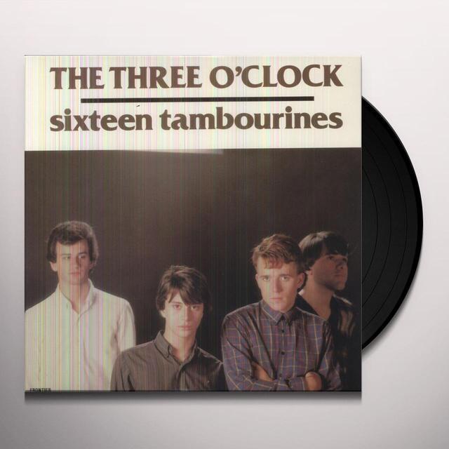 The Three O'Clock 16 TAMBOURINES Vinyl Record
