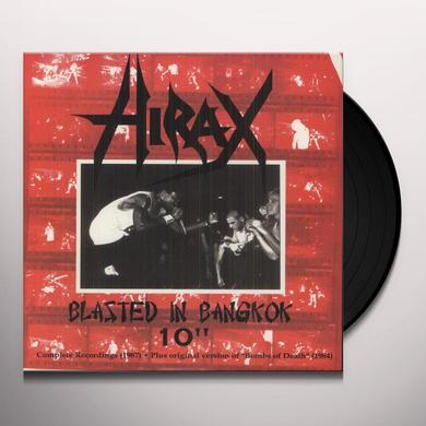 Hirax BLASTED IN BANGKOK WHITE Vinyl Record