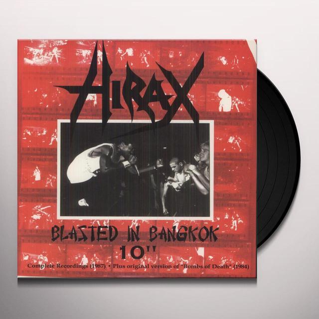 Hirax BLASTED IN BANGKOK WHITE Vinyl Record