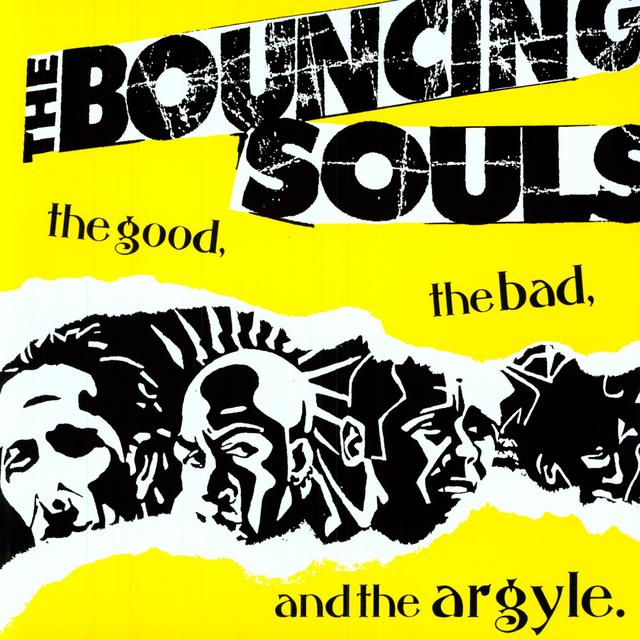The Bouncing Souls GOOD THE BAD & THE ARGYLE Vinyl Record