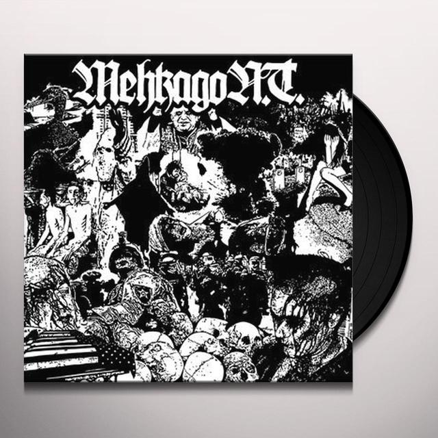 Mehkago N.T. MASSIVE FUCKING HEADWOUNDS Vinyl Record