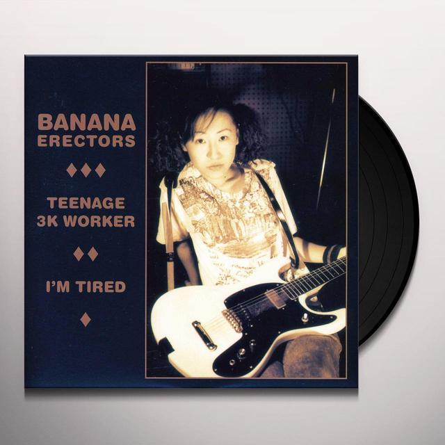 Banana Erectors TEENAGE 3K WORKER Vinyl Record