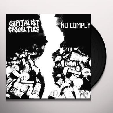 Capitalist Casualties & Nocomply PAINFUL SPLIT Vinyl Record