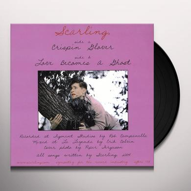 Scarling. CRISPIN GLOVER/LOVE BECOMES A GHOST Vinyl Record