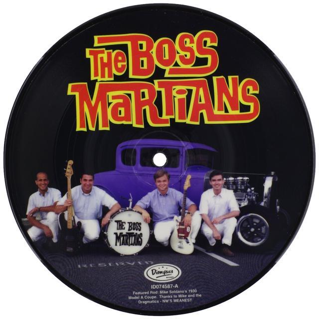 Boss Martians MODEL Vinyl Record