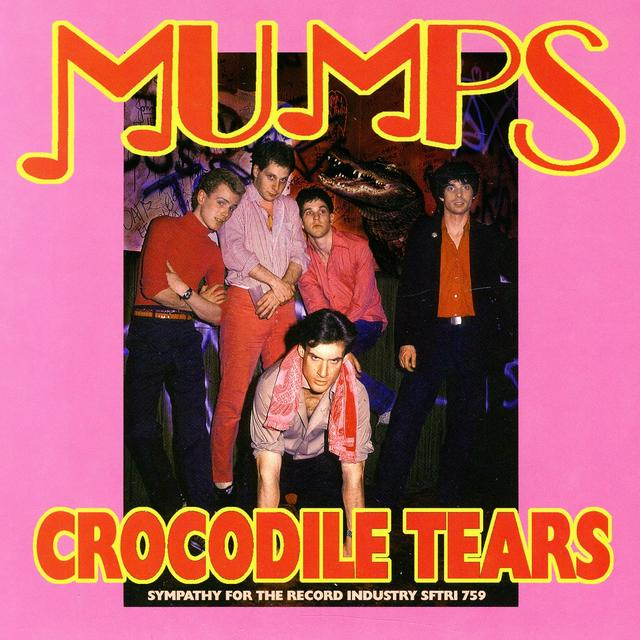 Mumps CROCODILE TEARS/WAITING FOR THE WORLD TO CATCH UP? Vinyl Record