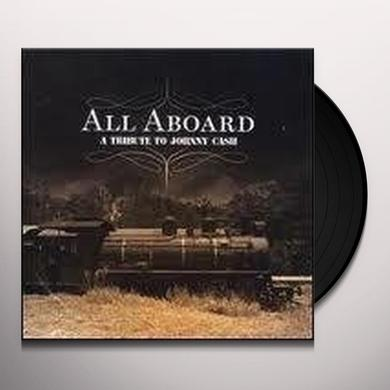 ALL ABOARD-TRIBUTE TO JOHNNY CASH / VARIOUS Vinyl Record