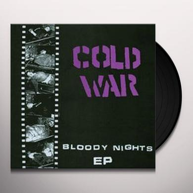 Cold War BLOODY NIGHTS Vinyl Record