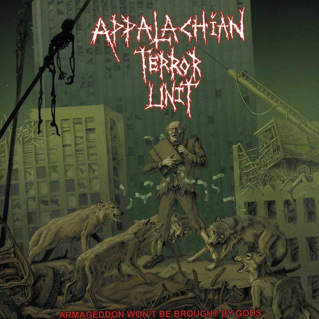 Appalachian Terror Unit ARMAGEDDON WON'T BE BROUGHT BY GODS (Vinyl)