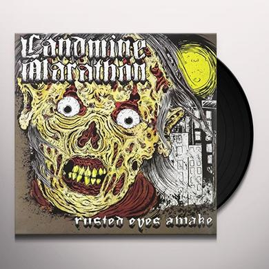 Landmine Marathon RUSTED EYES AWAKE Vinyl Record