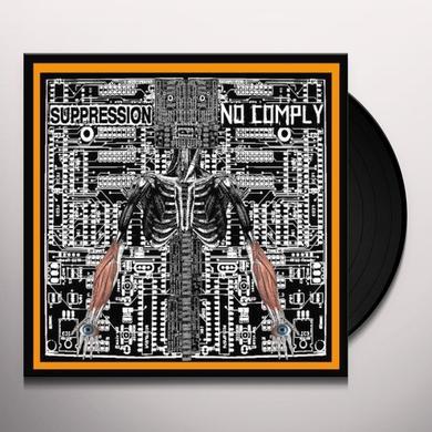 No Comply/Suppression SPLIT Vinyl Record