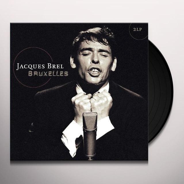 Jacques Brel BRUXELLES Vinyl Record