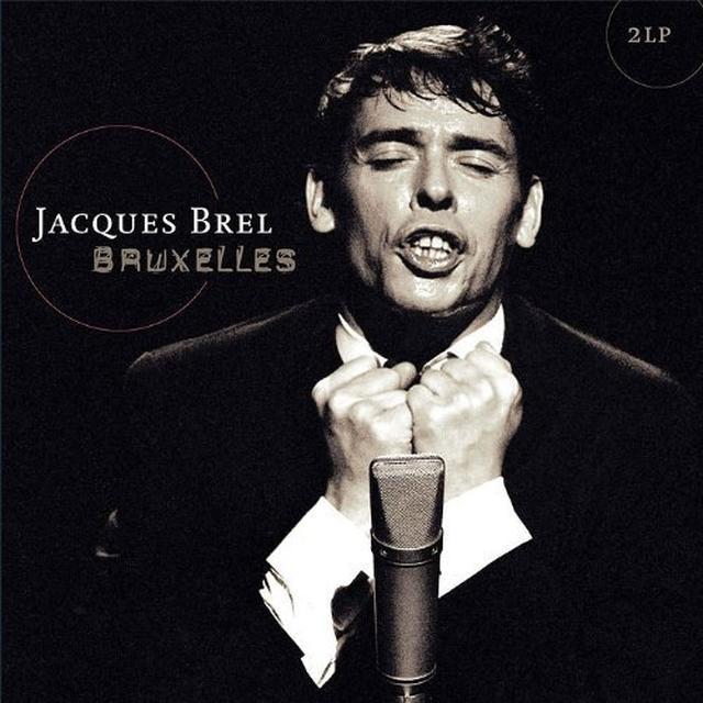 Jacques Brel BRUXELLES Vinyl Record - Holland Import