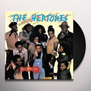 The Heptones GOOD LIFE Vinyl Record - UK Import