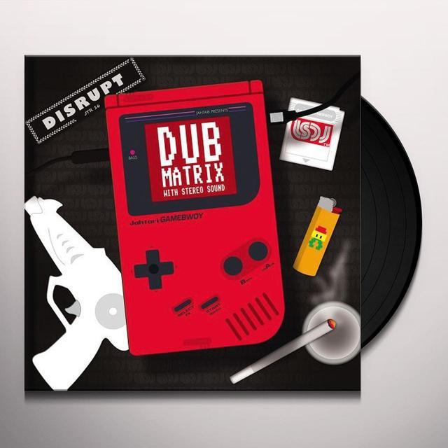 Disrupt DUB MATRIX WITH STEREO SOUND Vinyl Record