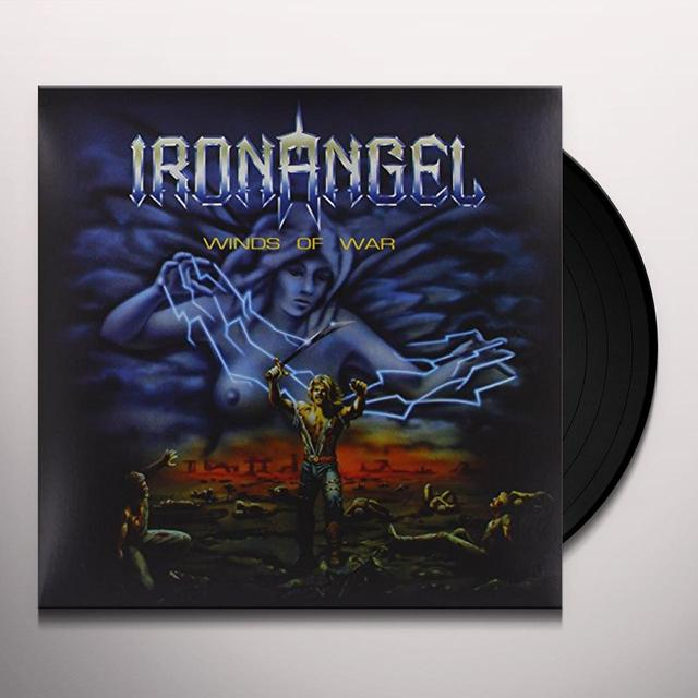 Iron Angel WINDS OF WAR Vinyl Record - UK Import