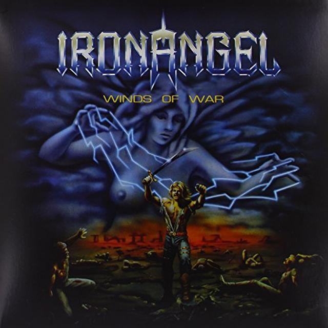 Iron Angel WINDS OF WAR Vinyl Record - UK Import