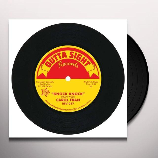 Kitty Carol Fran White KNOCK KNOCK/I'M GONNA BE YOUR FOOL NEXT MONDAY Vinyl Record