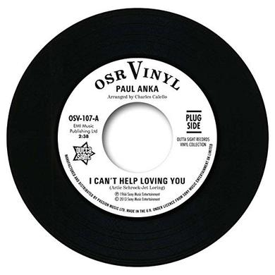 Paul Anka I CAN'T HELP LOVING YOU/WHEN WE GET THERE Vinyl Record