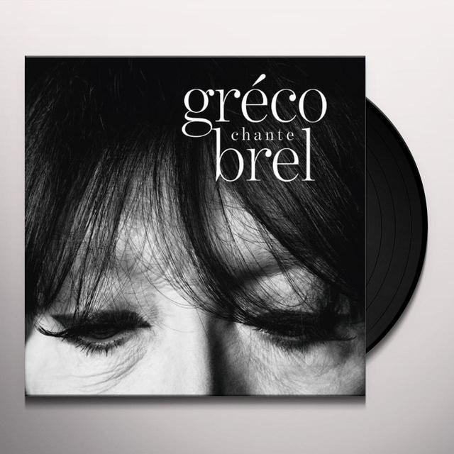Juliette Gréco GRECO CHANTE BREL Vinyl Record