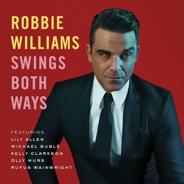Robbie Williams SWINGS BOTH WAYS Vinyl Record - Portugal Import