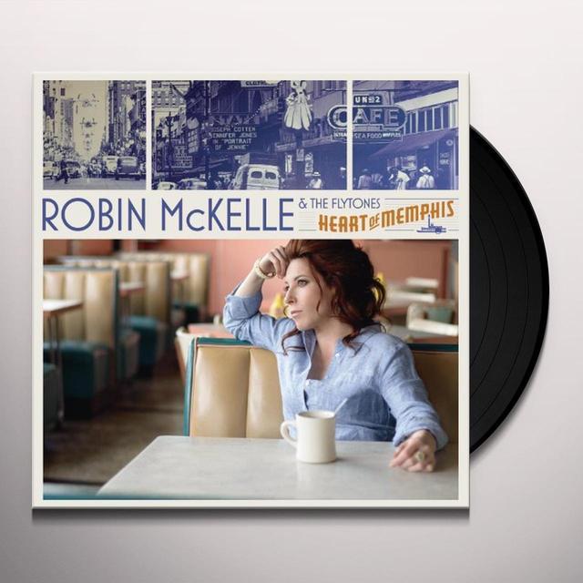 Robin Mckelle & The Flytones HEART OF MEMPHIS (FRA) Vinyl Record