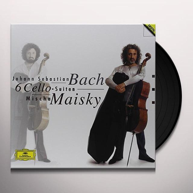 Mischa Maisky BACH: 6 CELLO SUITES Vinyl Record