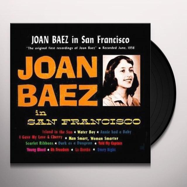 Joan Baez IN SAN FRANCISCO Vinyl Record