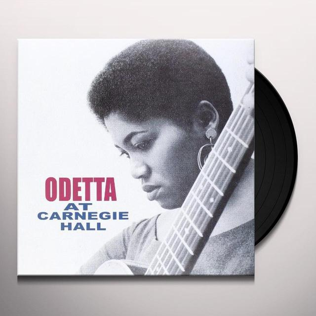 Odetta AT CARNEGIE HALL Vinyl Record
