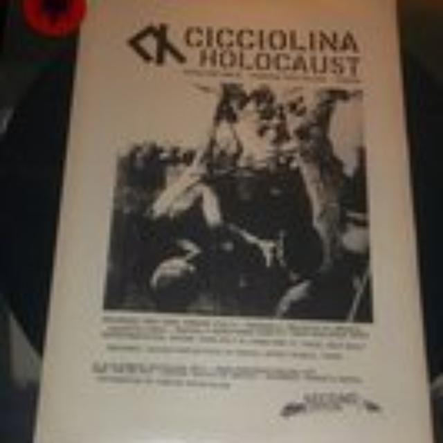 Cicciolina Holocaust VASELINE RACE Vinyl Record - UK Release