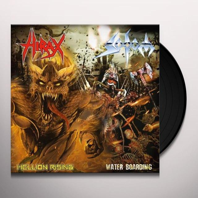 Sodom/Hirax SPLIT SINGLE (UK) (Vinyl)