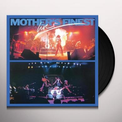 Mother'S Finest LIVE Vinyl Record - UK Import