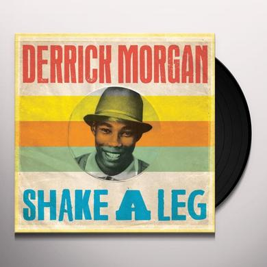 Derrick Morgan SHAKE A LEG Vinyl Record - UK Import