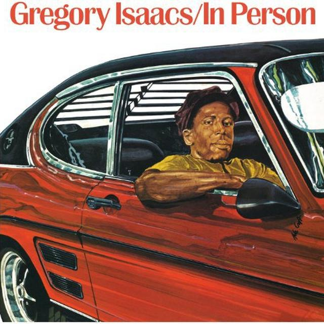Gregory Isaacs IN PERSON Vinyl Record - UK Import