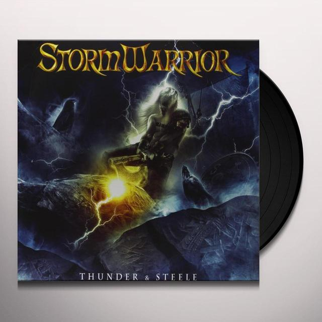 Stormwarrior THUNDER & STEELE Vinyl Record