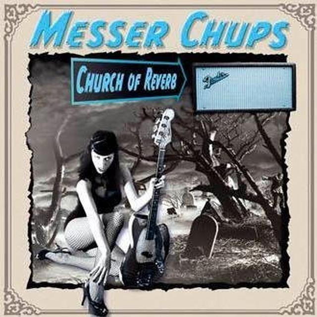 Messer Chups CHURCH OF REVERB Vinyl Record