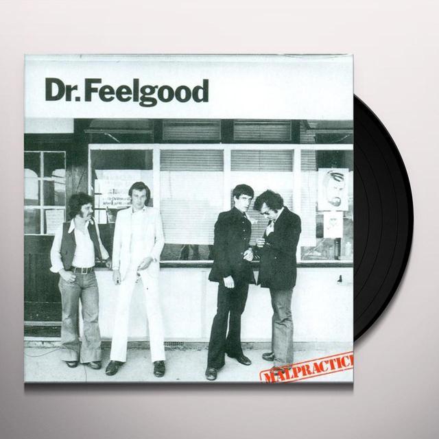 Dr Feelgood MALPRACTICE Vinyl Record - UK Import