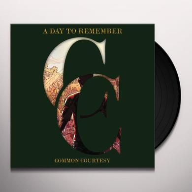 A Day To Remember COMMON COURTESY (GER) Vinyl Record