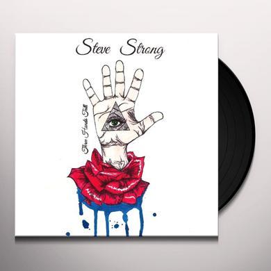 Steve Strong THREE HANDS TALL Vinyl Record - UK Import