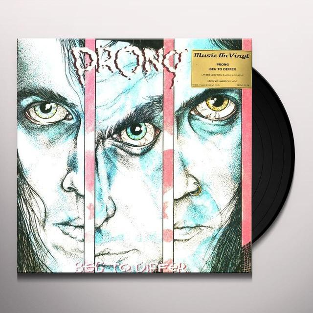Prong BEG TO DIFFER Vinyl Record