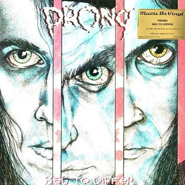 Prong BEG TO DIFFER Vinyl Record - Holland Import