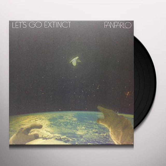Fanfarlo LET'S GO EXTINCT Vinyl Record - UK Import