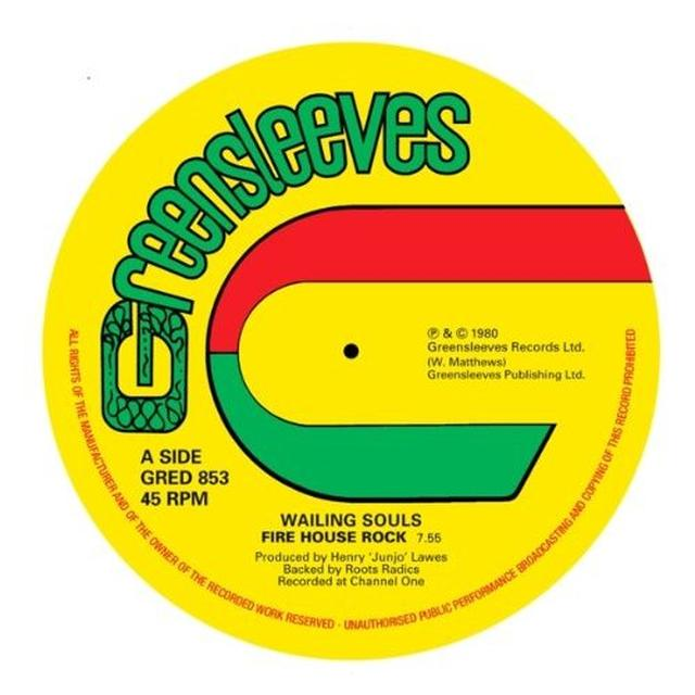 Wailing Souls FIREHOUSE ROCK Vinyl Record - UK Import
