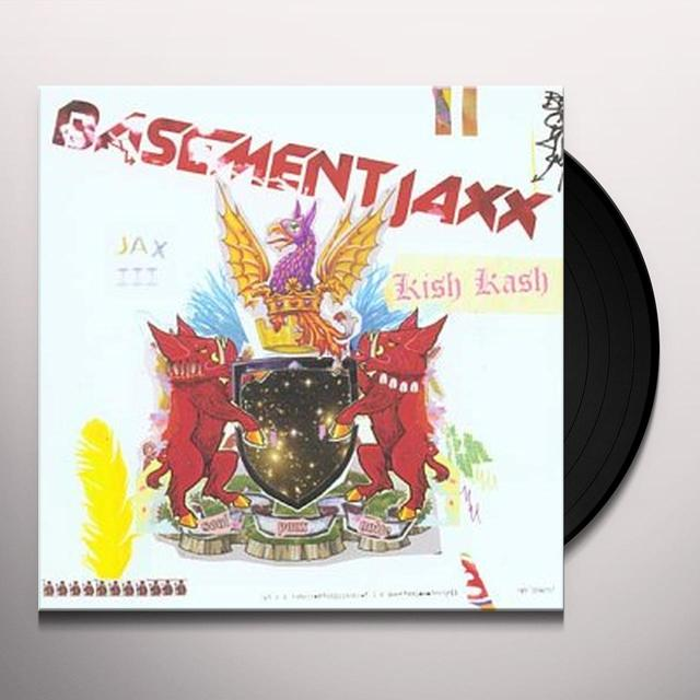 Basement Jaxx KISH KASH Vinyl Record - UK Import