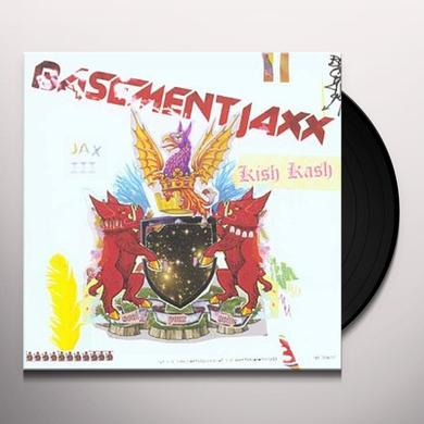Basement Jaxx KISH KASH Vinyl Record - UK Import