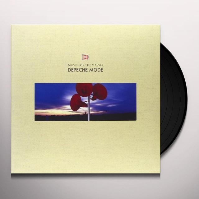 Depeche Mode MUSIC FOR THE MASSES Vinyl Record - 180 Gram Pressing