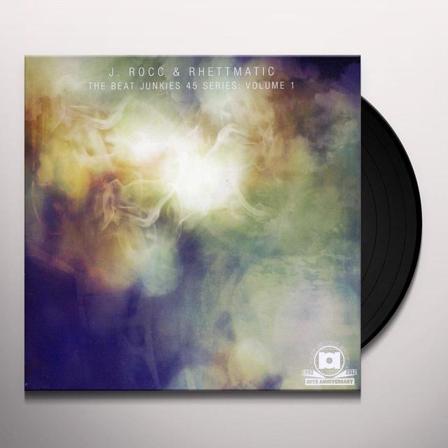 J Rocc & Rhettmatic BEAT JUNKIES 45 SERIES 1 Vinyl Record